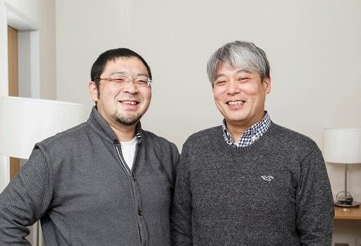 東京交響楽団の首席トランペット奏者・澤田真人氏(右)と,首席トロンボーン奏者・鳥塚心輔氏(左)