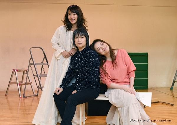 (写真左から)江間直子、森さゆ里、樋口泰子 撮影:Cosufi