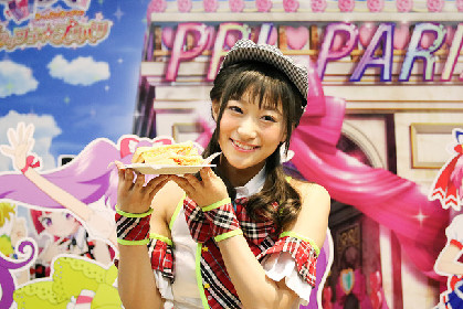 i☆Ris茜屋「プリパラ」カフェ1日店長就任、「すごい映画になっています」