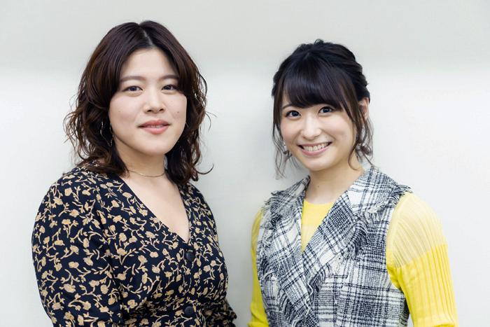 (左から)優河、唯月ふうか  (撮影:中田智章)