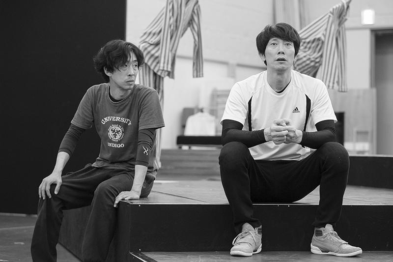 『BENT』稽古場より(撮影:加藤幸広)