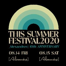 [Alexandros]、6年ぶりの『THIS SUMMER FESTIVAL』オンライン有料配信の詳細が決定