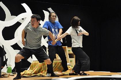 京都公演開幕直前! 木ノ下歌舞伎『心中天の網島』稽古場レポート