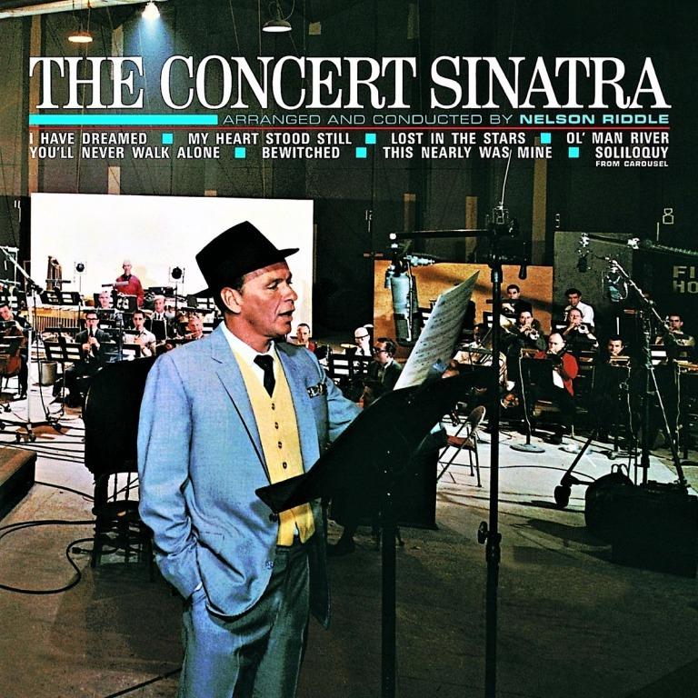 シナトラの〈ソリロクウィ〉を収録したアルバム「ザ・コンサート・シナトラ」(1963年録音)。〈人生ひとりではない〉も収めている(輸入盤CD)。
