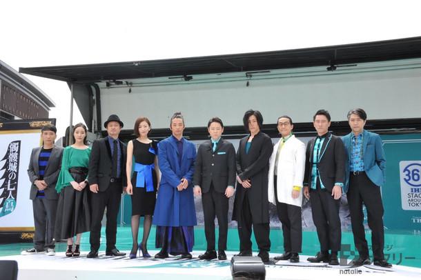 「劇団☆新感線『髑髏城の七人』 Season鳥」製作発表記者会見より。
