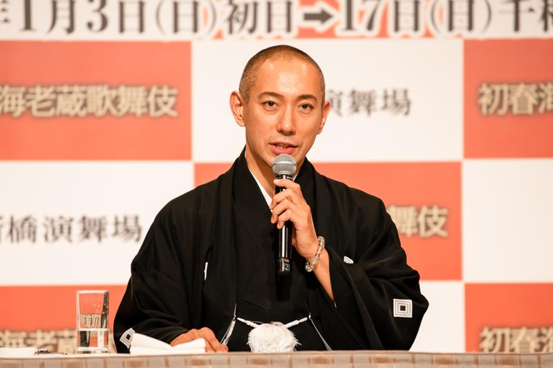 2020年1月の新橋演舞場公演以来、1年ぶりの東京公演。