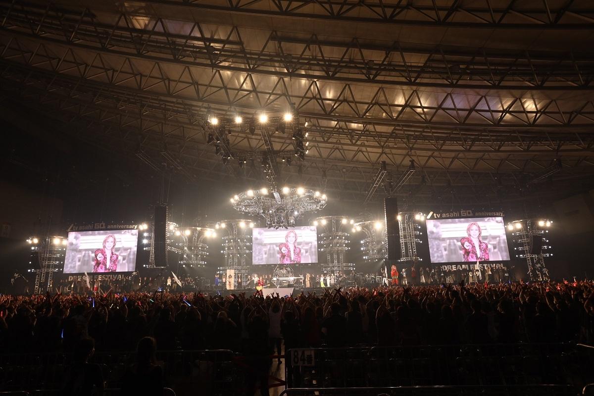 YOSHIKI (C)テレビ朝日ドリームフェスティバル2019