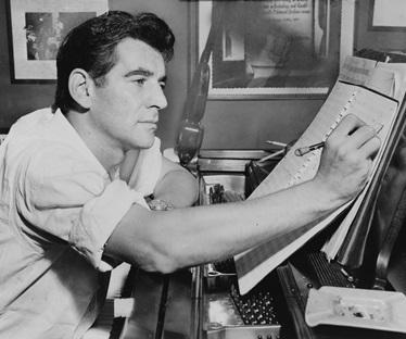 1955年バーンスタイン photo by Al Ravenna