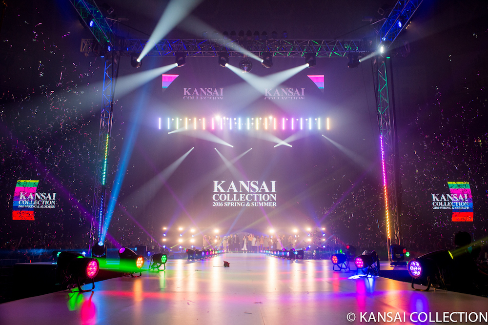 『KANSAI COLLECTION2016 SPRING&SUMMER』風景1