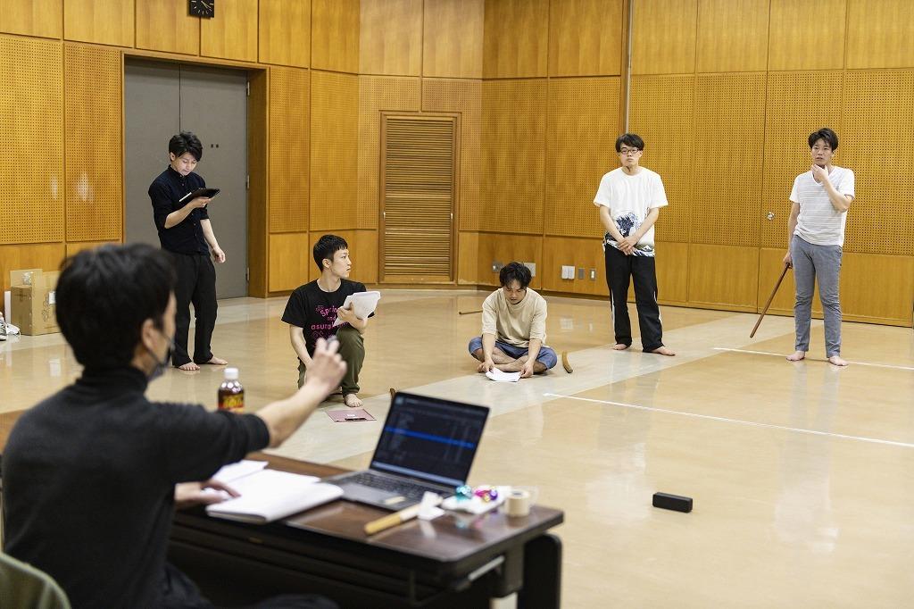 劇団 短距離男道ミサイル オンラインプレイベント、公開稽古より