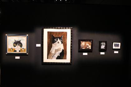 『「ねこ画展」〜ねこ画から生まれた愛おしい世界〜』で、猫にちなんだ割引キャンペーンを実施!