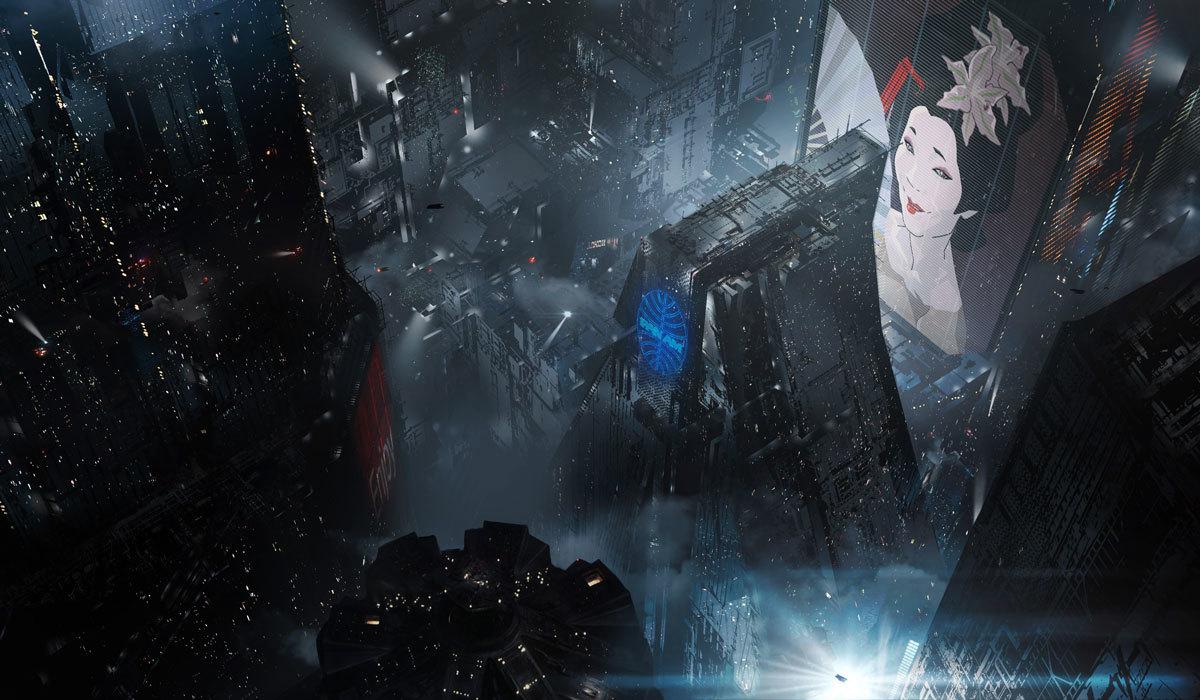 『ブレードランナー ブラックアウト 2022』コンセプトアート