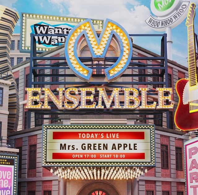 Mrs. GREEN APPLE 3rdアルバム『ENSEMBLE』