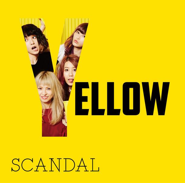 SCANDAL「YELLOW」初回限定盤ジャケット