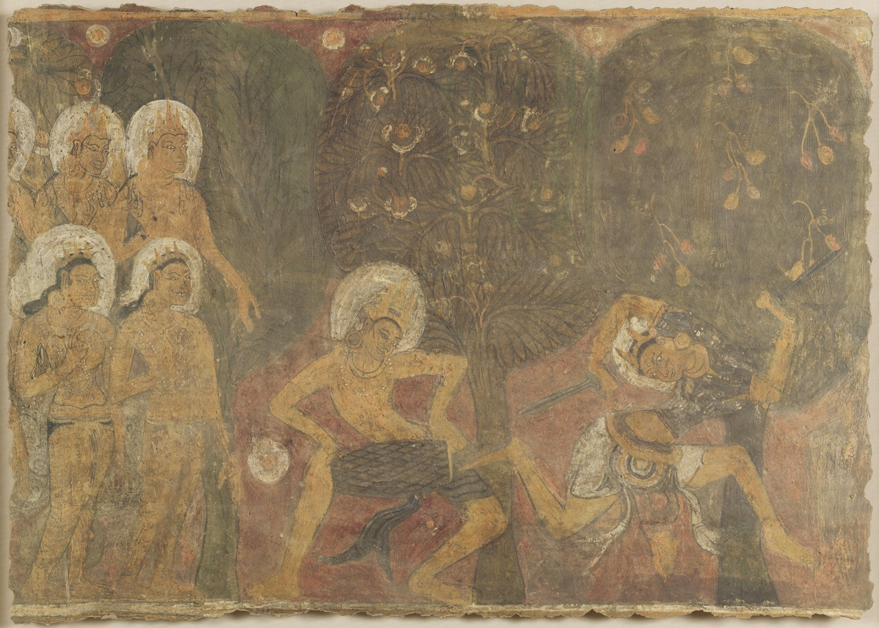 クローン文化財:バガン遺跡壁画Gubyauk Gyi (Myin ka bar)