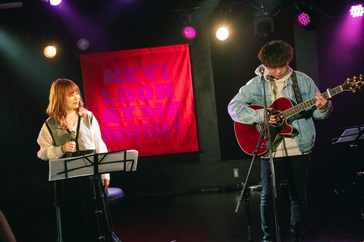 みきなつみ×Shunsuke Mita ライブ写真