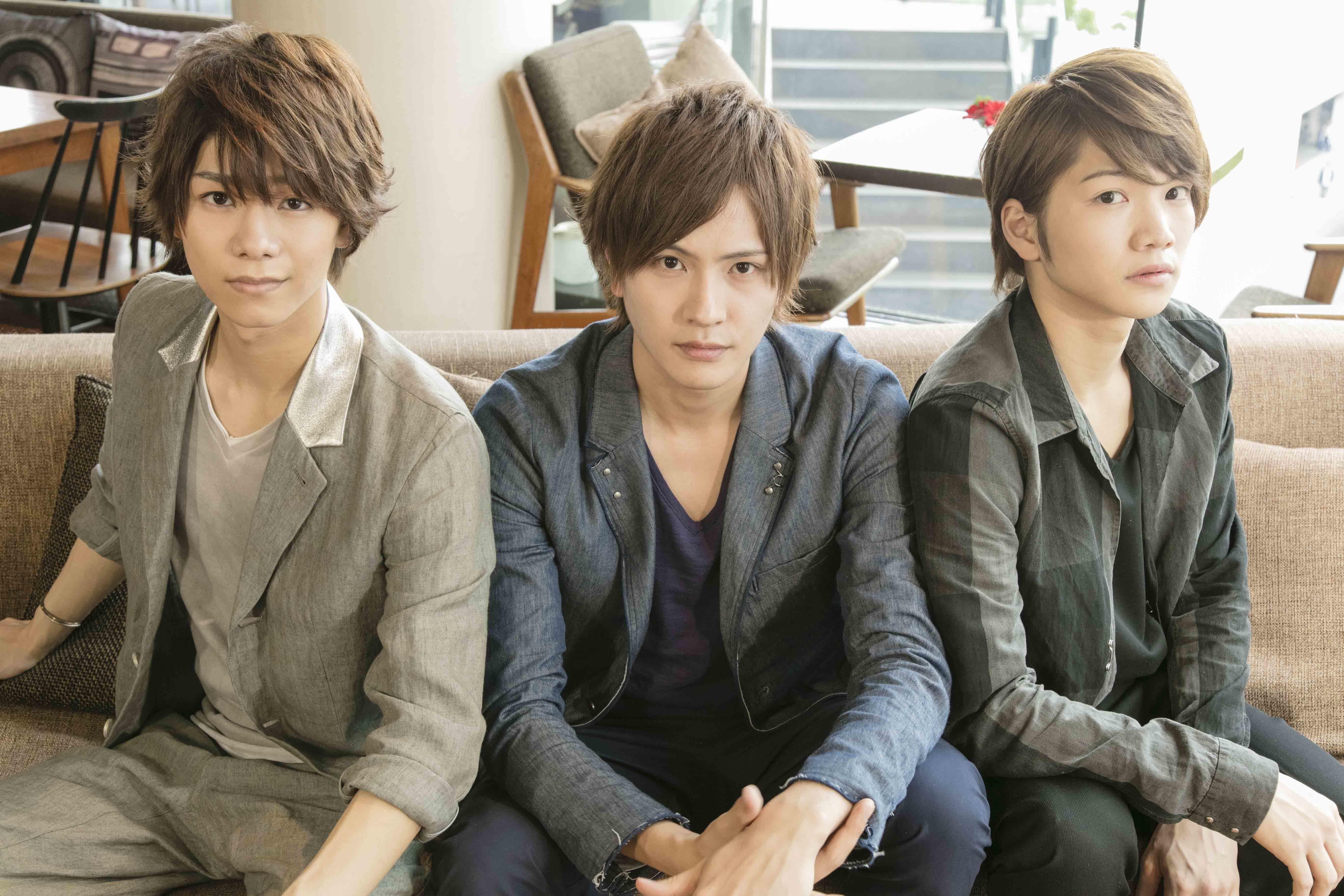 (左から) 北川尚弥、 財木琢磨、 三浦宏規