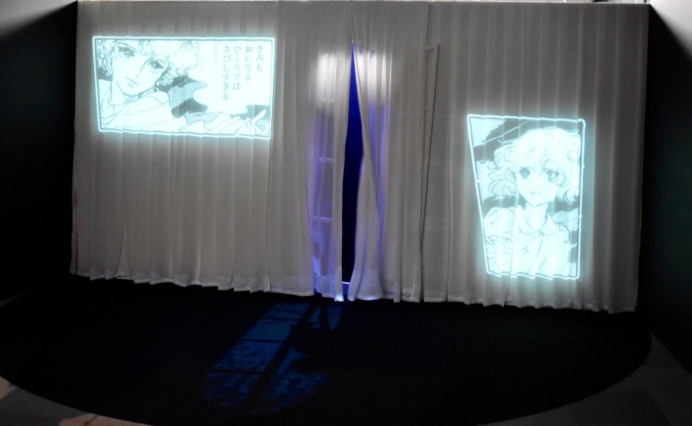 イントロダクションで見られる「ポーの一族」の映像 ©萩尾望都/小学館