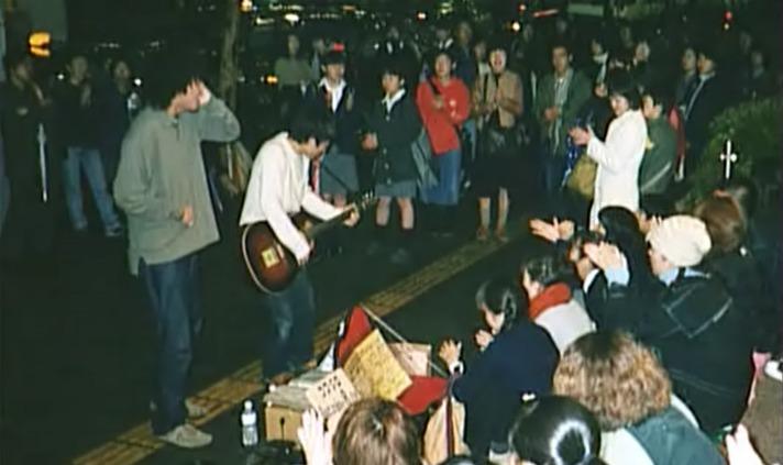 天王寺MIO前でのストリート写真(1999から2000年頃)