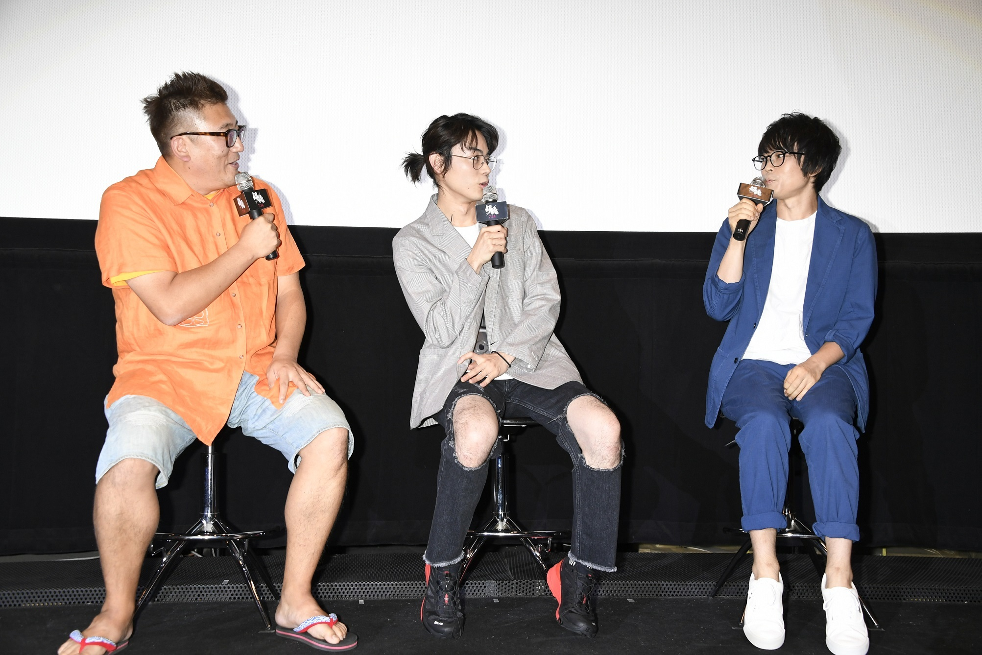 左から、福田雄一監督、菅田将暉、阪口大助