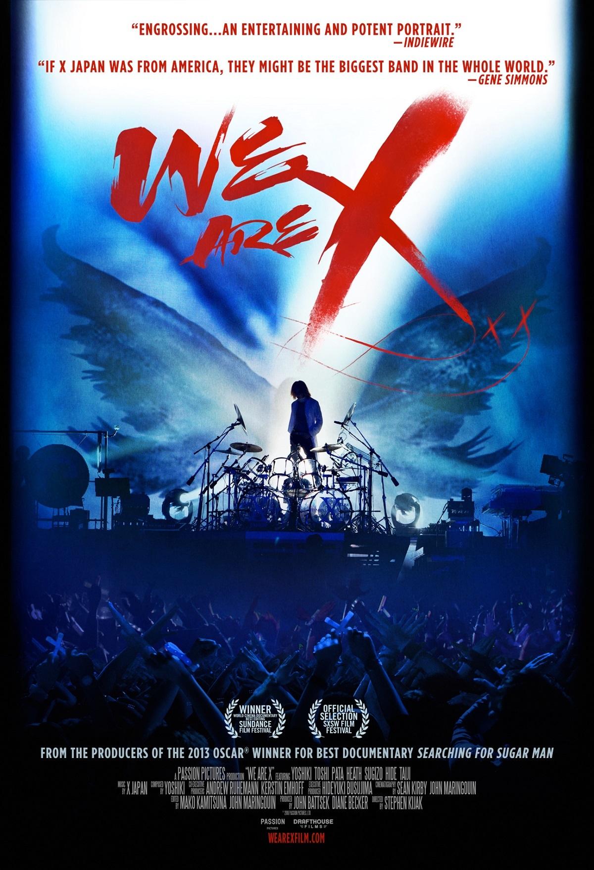 X JAPANドキュメンタリー映画『We Are X』