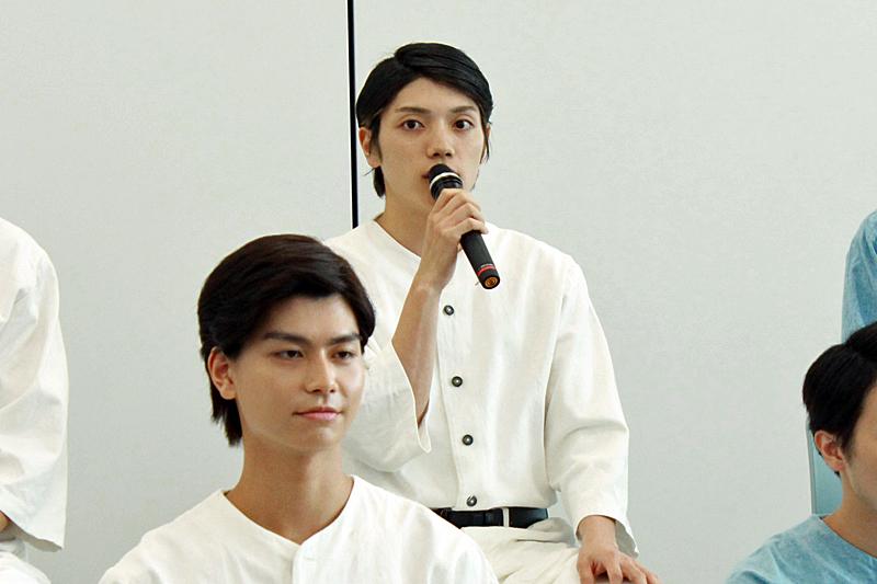 佐々木新 役 伊崎龍次郎
