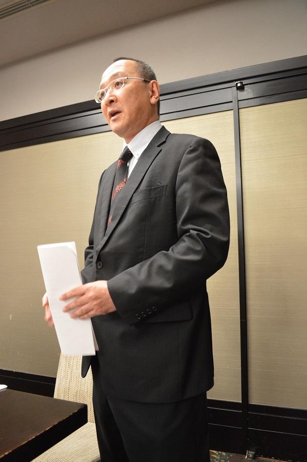 新間寿恒UWA海外国際部長