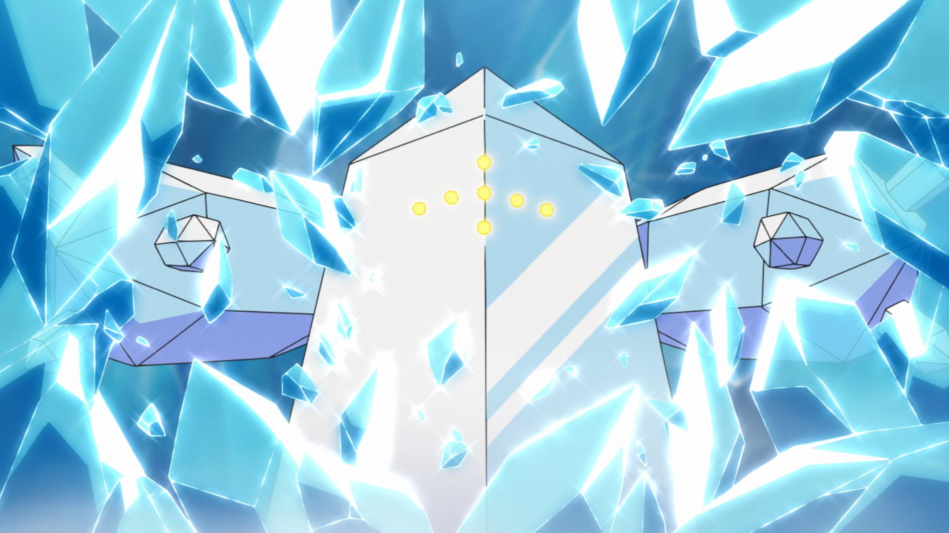 レジアイス (C) Nintendo・Creatures・GAME FREAK・TV Tokyo・ShoPro・JR Kikaku (C)  Pokémon