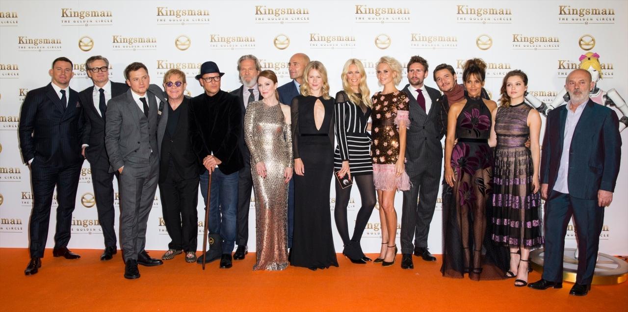 『キングスマン:ゴールデン・サークル』のワールドプレミア ロンドンにて