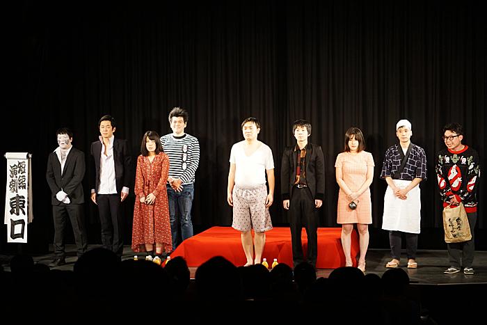 カーテンコール(撮影:安藤光夫)