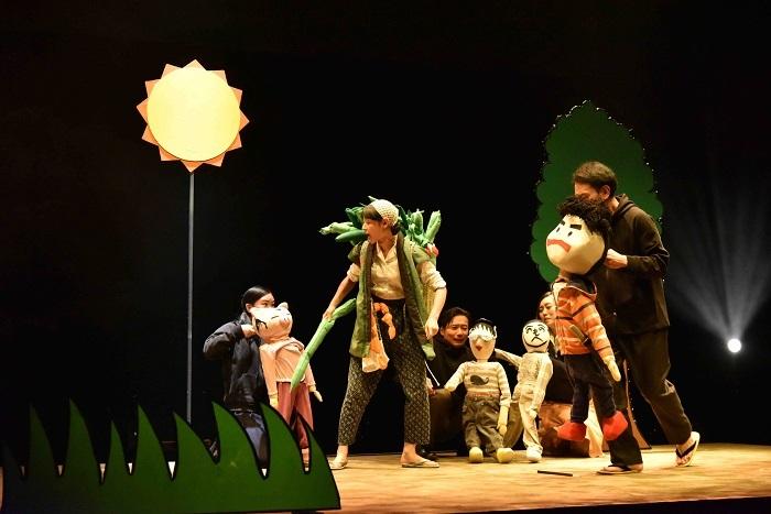 福島3部作・第1部先行上演『1961年:夜に昇る太陽』より(撮影:田子和司)