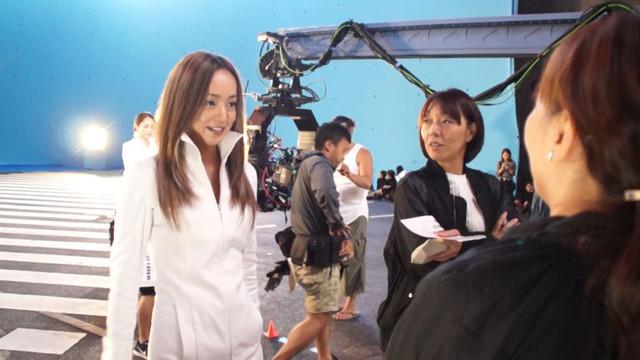 """安室奈美恵「Documentary of Namie Amuro """"Finally""""」エピソード6のワンシーン。"""