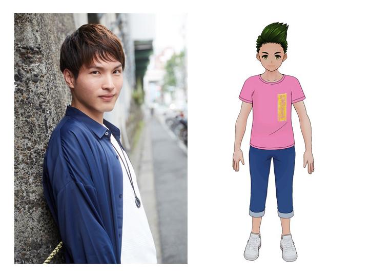 鈴木裕斗(桜来 清役) (C)Story Effect Co.Ltd.