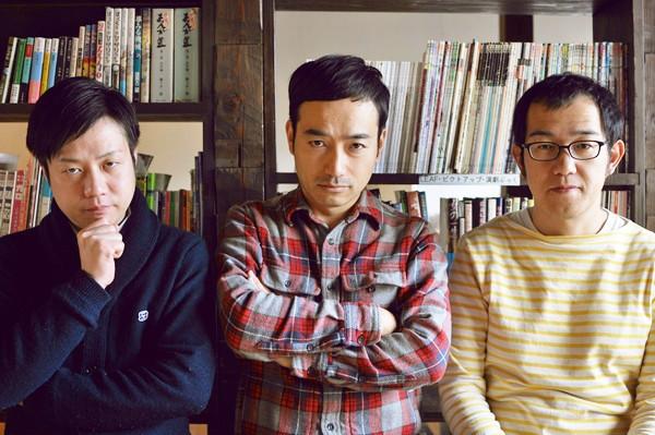 (左から)かもめんたる(槙尾ユウスケ、岩崎う大)、上田誠