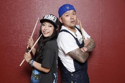 SATOKO&MASUOドラムセミナー『ドラムのレシピ』にリアド偉武(BIGMAMA)が参加決定