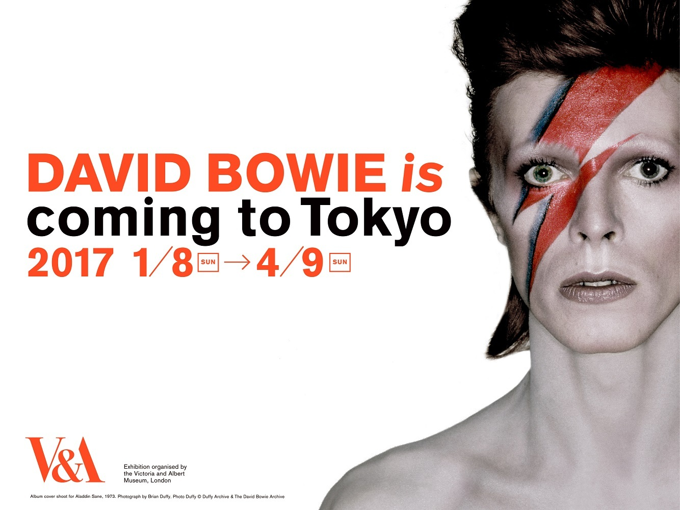 大回顧展『DAVID BOWIE is』