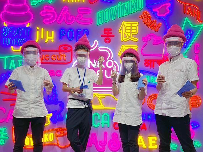 『うんこミュージアム TOKYO』 ペーパーボーイズ&ガールズ