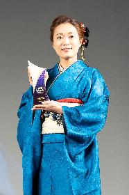 青い和服姿のWakanaからコメント到着『WEIBO Account Festival in Tokyo 2020』でクラシックアニソンシンガー賞を受賞