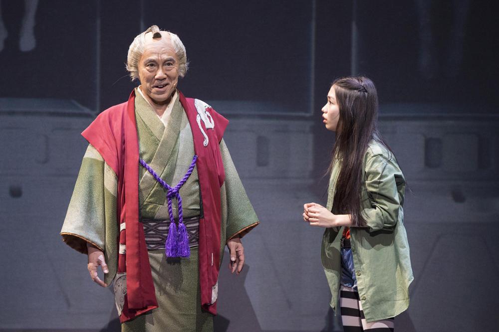 ミュージカル「DNA-SHARAKU」 撮影:引地信彦