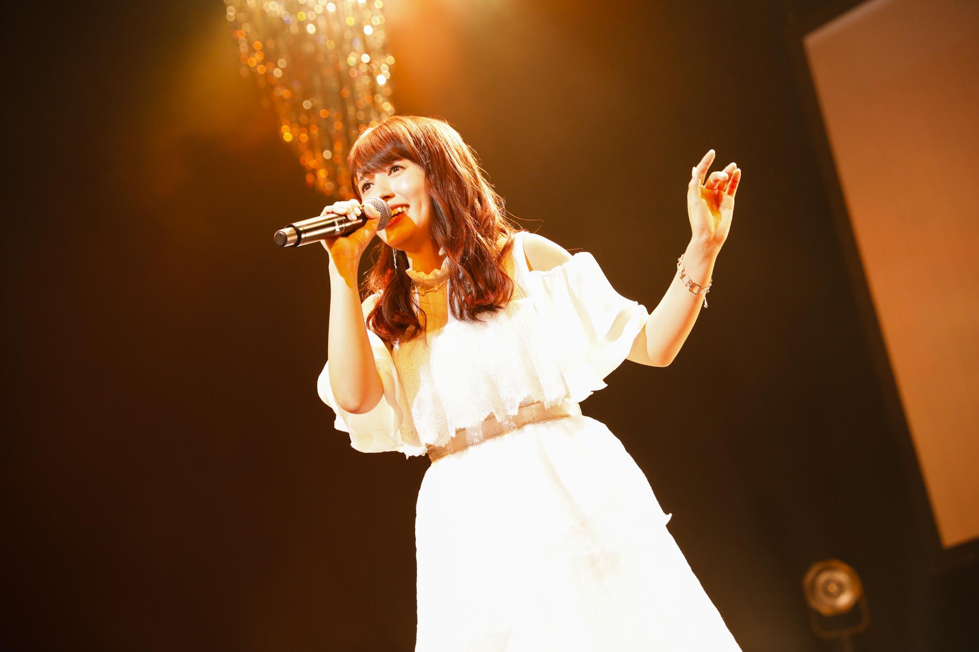 逢田梨香子 1st EP『Principal』発売記念 Birthdayイベントより  写真:石井亜希