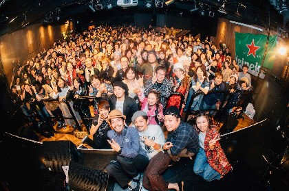 『GROOVYROOMS 2017』梅田の街がGOOD GROOVEに包まれた1日をフォトレポート