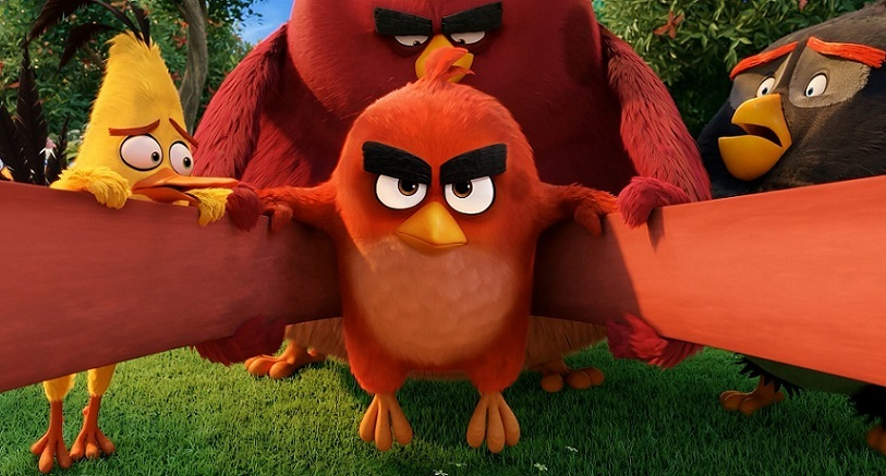 (c) 2016 Rovio Animation Ltd. and Rovio Entertainment Ltd. Angry Birds and all related properties, titles, logos and