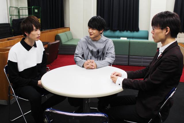 (左から)佐伯亮、小早川俊輔、ほさかよう