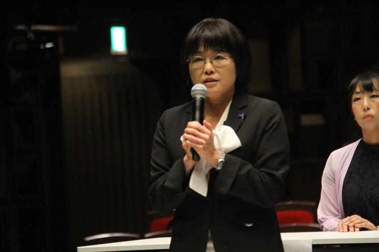 フェニーチェ堺 副館長 中野郁代 (C)H.isojima