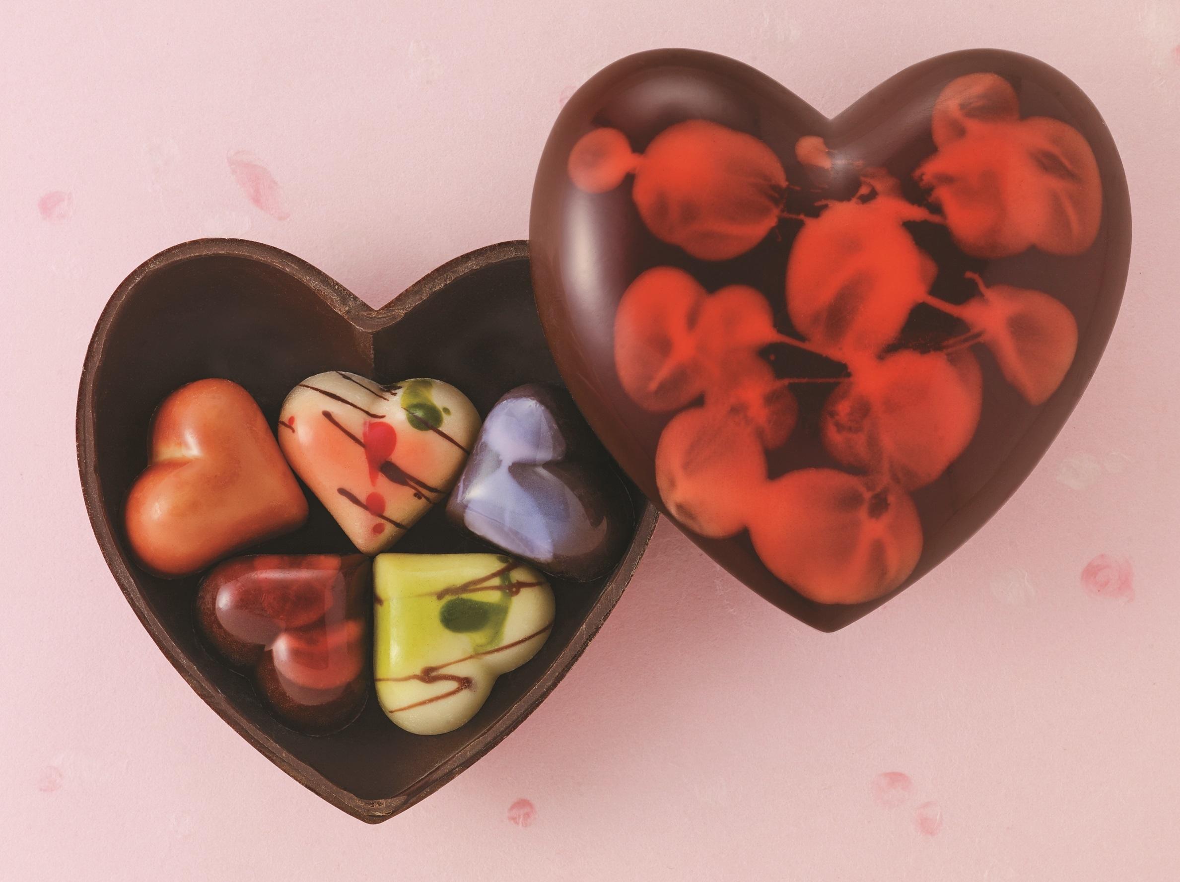 Okada Museum Chocolate『プレシャスハート』 4,801 円(税込) 日本橋三越本店 限定