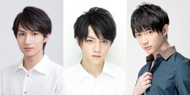 舞台『若様組まいる』(左から)木戸邑弥・尾関陸・和合真一