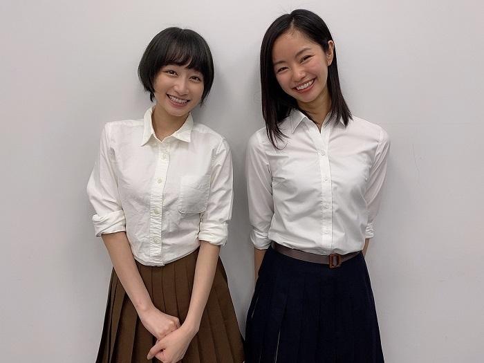 (左から)福島雪菜、前田悠雅