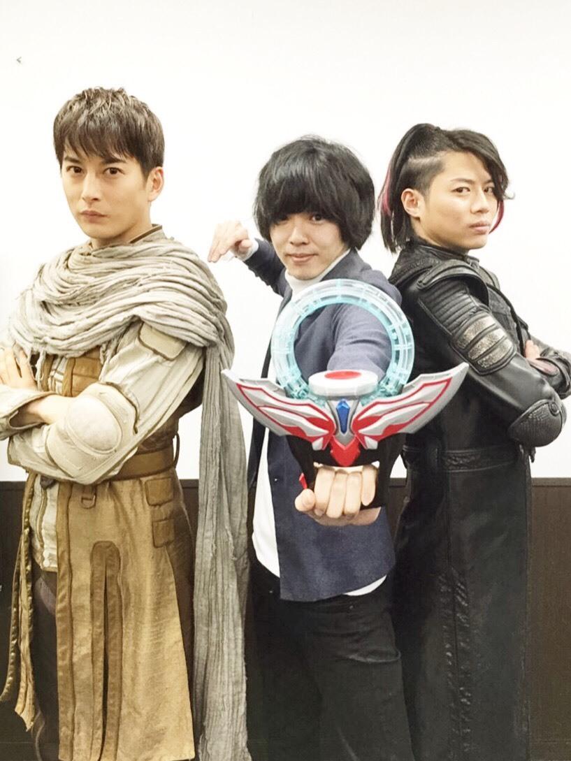 (写真左から)石黒英雄、タカハシヒョウリ、青柳尊哉
