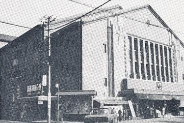 建築当初の新橋演舞場