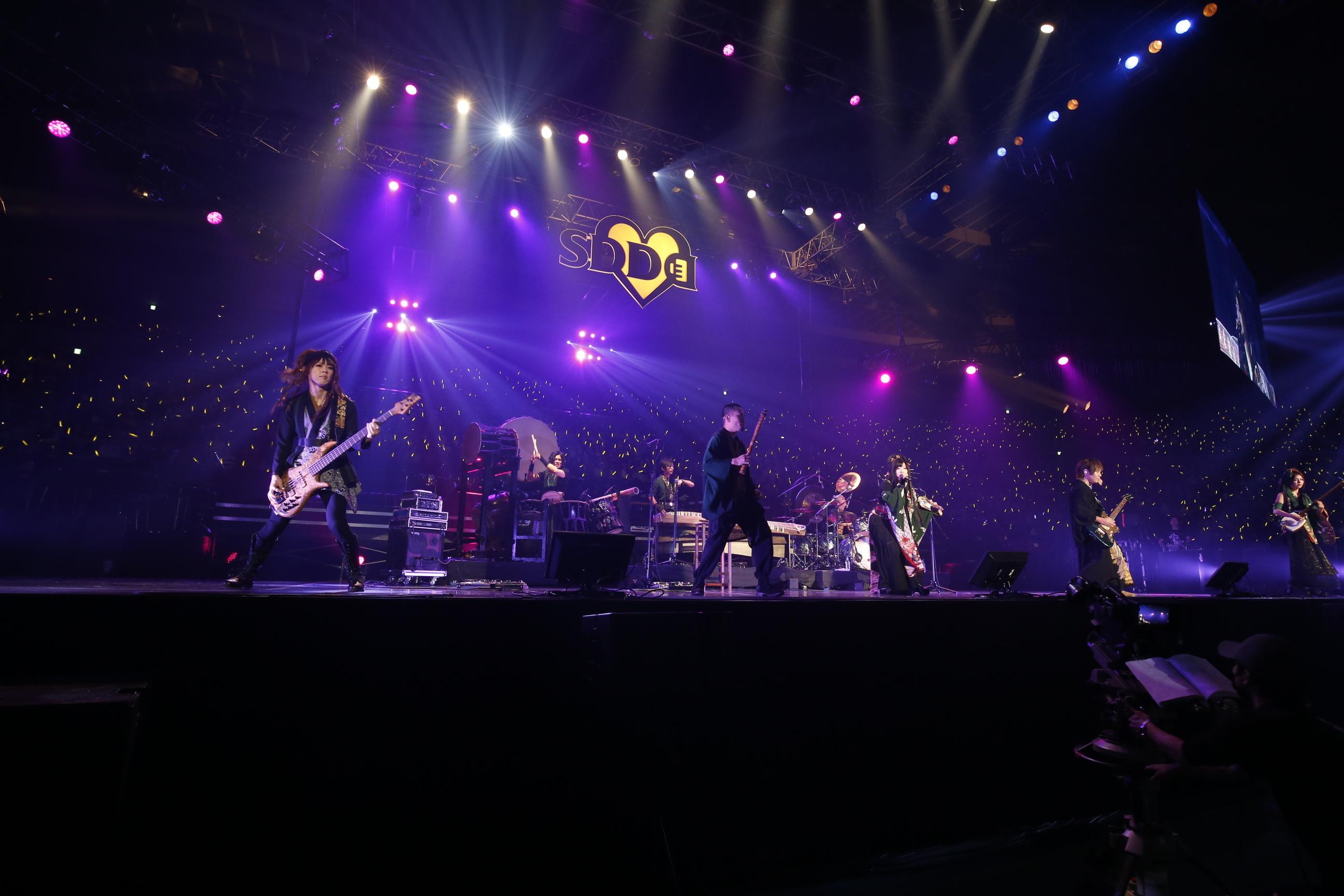 和楽器バンド LIVE SDD 2018 OFFICIAL PHOTO
